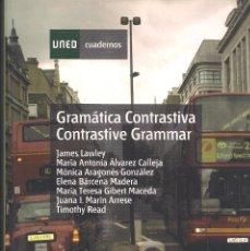 Libros de segunda mano: GRAMATICA CONTRASTIVA / CONTRASTIVE GRAMMAR. Lote 113277363