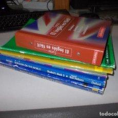 Libros de segunda mano: LOTE VARIADO LIBROS APRENDIZAJE INGLÉS, VER FOTOS CONTENIDO. Lote 115016375