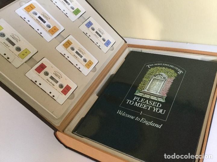 Libros de segunda mano: Curso de Inglés Home English Pleased to meet you English Course Edición 1989 - Foto 3 - 115127743
