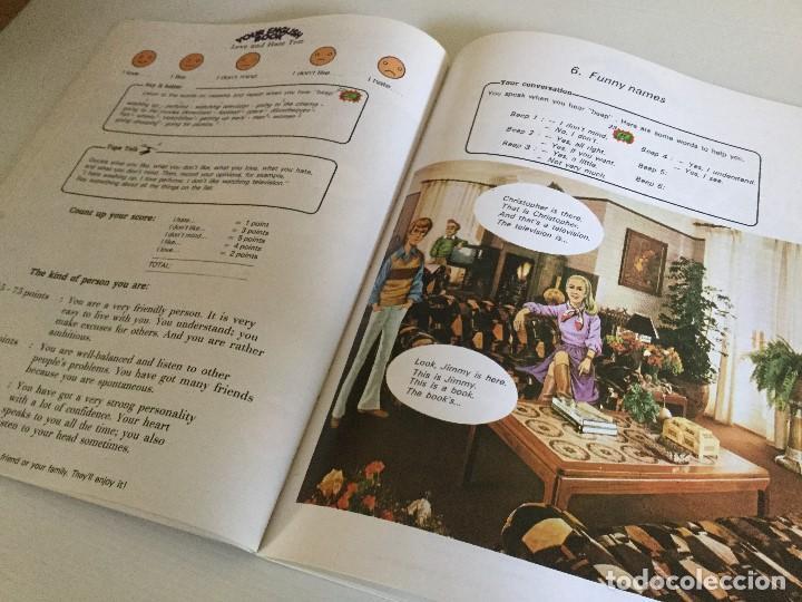 Libros de segunda mano: Curso de Inglés Home English Pleased to meet you English Course Edición 1989 - Foto 4 - 115127743