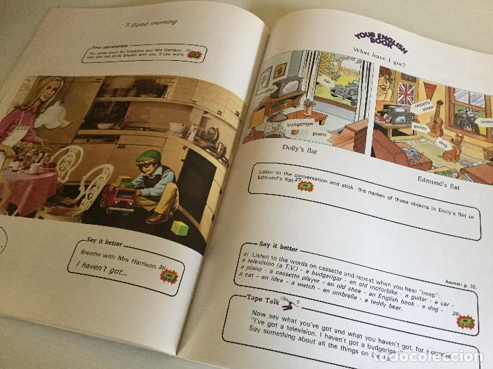 Libros de segunda mano: Curso de Inglés Home English Pleased to meet you English Course Edición 1989 - Foto 5 - 115127743