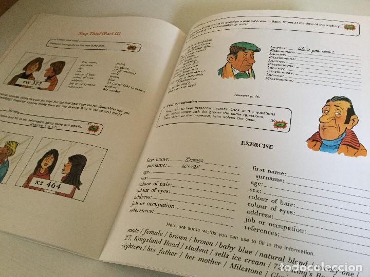 Libros de segunda mano: Curso de Inglés Home English Pleased to meet you English Course Edición 1989 - Foto 7 - 115127743