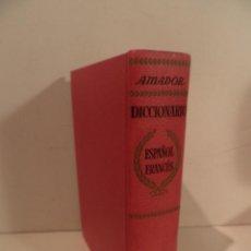 Libros de segunda mano: DICCIONARIO ESPAÑOL FRANCES - POR EMILIO M.MARTINEZ AMADOR - ED. RAMON SOPENA 1964. Lote 115147655