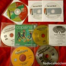Libros de segunda mano: 9 CDS - OXFORD PARA EL ESTUDIO DEL INGLES EN LA ESO + HAPPY HOUSE SONGS & CHANTS. Lote 116861055