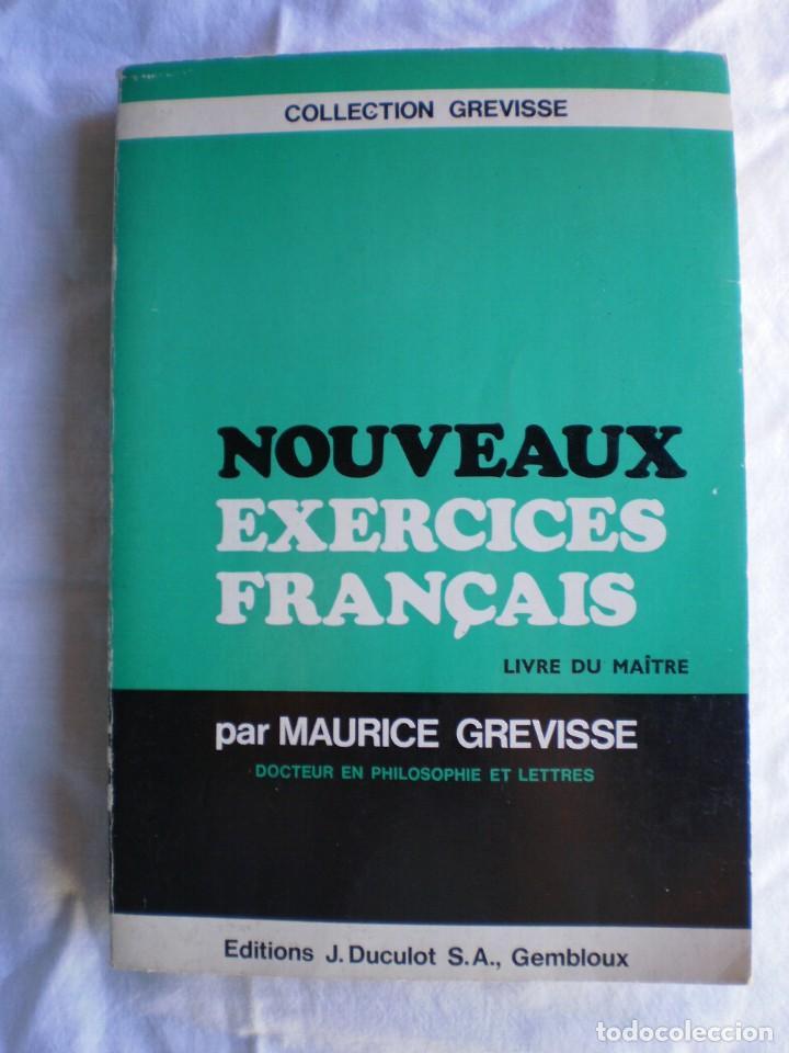 NOUVEAUX EXERCICES FRANÇAIS. LIVRE DU MAÎTRE (Libros de Segunda Mano - Cursos de Idiomas)