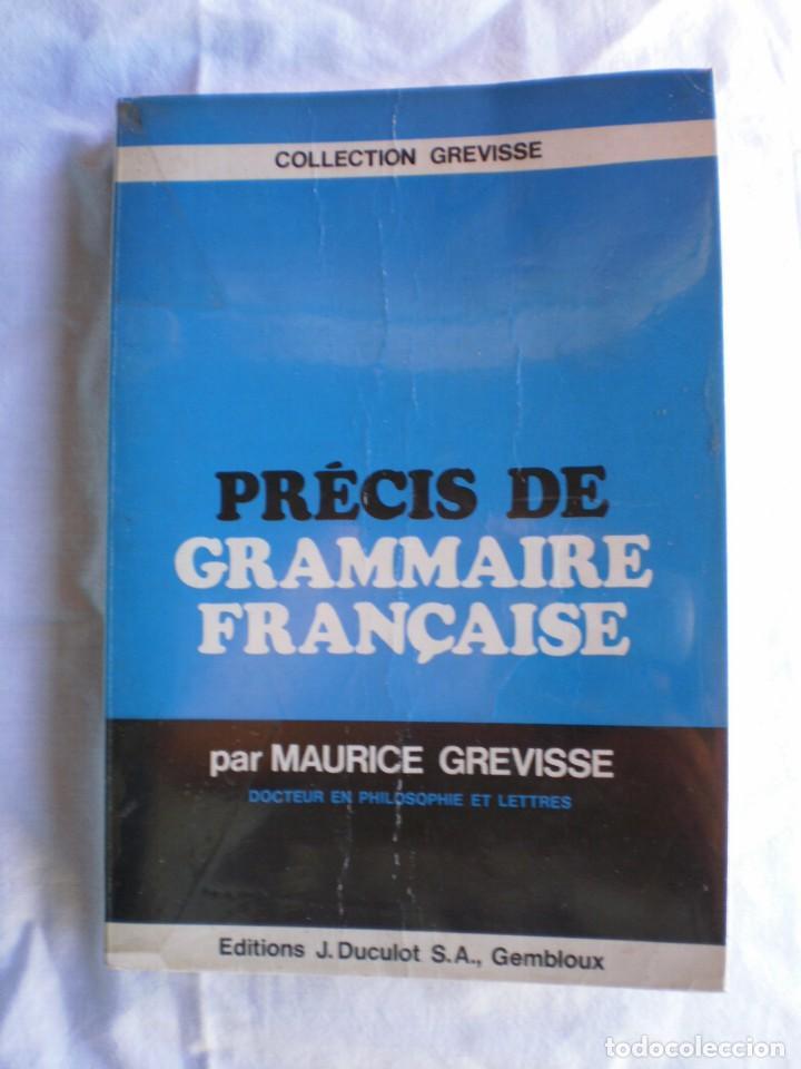 PRÉCIS DE GRAMMAIRE FRANÇAISE (Libros de Segunda Mano - Cursos de Idiomas)