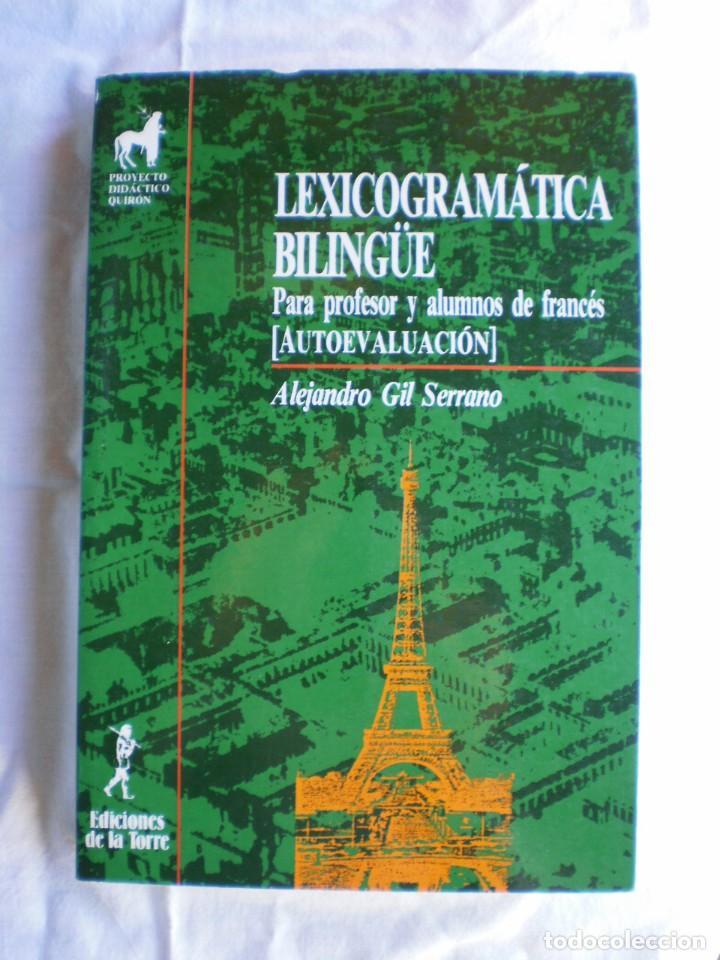 LEXICOGRAMATICA BILINGÜE. (Libros de Segunda Mano - Cursos de Idiomas)