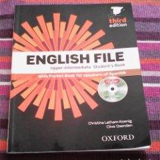 Libros de segunda mano: NEW ENGLISH FILE . UPPER-INTERMEDIATE STUDENT'S BOOK . OXFORD . CLIVE OXENDEN - CHISTINA LATHAM. Lote 118801599