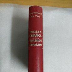 Libros de segunda mano: DICCIONARIO DE INGLES ESPAÑOL ENGLISH SPANISH HYMSA DICCIONARIOS CUYAS. Lote 118932123