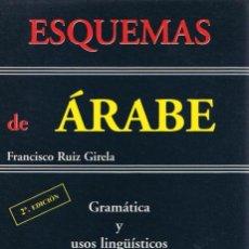 Libros de segunda mano: ESQUEMAS DE ÁRABE. Lote 120823499
