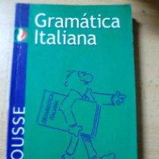 Libros de segunda mano: GRAMÁTICA ITALIANA. LAROUSSE. Lote 121221223