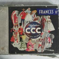 Libros de segunda mano: FRANCÉS II POLIGLOPHONE ENSEÑA A DISTANCIA CCC MANUALES AÑOS 50. Lote 121671658