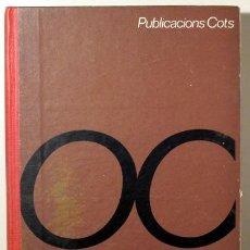 Libri di seconda mano: OBRADORS, ROSA - ORTOGRAFIA CATALANA. MÈTODE PRÀCTIC - LLIBRE DEL MESTRE ( 2 VOLUMS) - BARCELONA 196. Lote 122531451