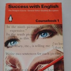 Libros de segunda mano: SUCCESS WITH ENGLISH ( COURSEBOOK 1 ) - PENGUIN EDUCATION. Lote 125351831