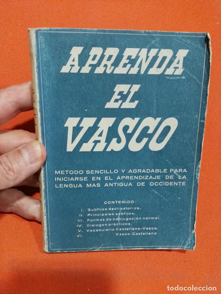 Aprenda El Vasco Libro Años 50 Con Frases En Euskera Y Castellano Para Hablar Euskera
