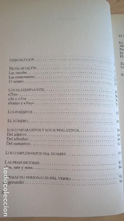 Libros de segunda mano: APRENDA A HABLAR Y ESCRIBIR CORRECTAMENTE EL INGLES SIN COMETER LOS ERRORES TIPICOS DE LOS HISPANOAB - Foto 4 - 125825047