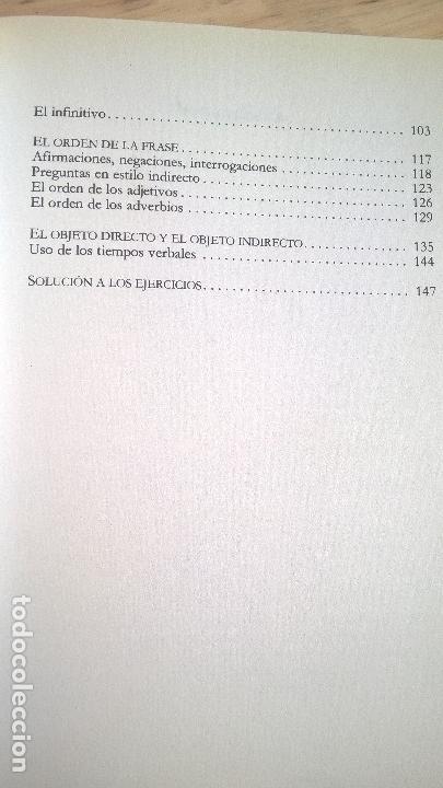 Libros de segunda mano: APRENDA A HABLAR Y ESCRIBIR CORRECTAMENTE EL INGLES SIN COMETER LOS ERRORES TIPICOS DE LOS HISPANOAB - Foto 5 - 125825047