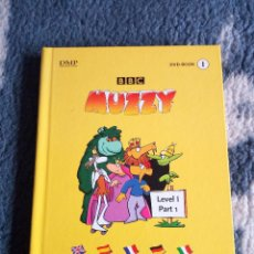 Libros de segunda mano: MUZZY DVD-BOOK - CURSO MUNTILENGUAJE DE LA BBC PARA NIÑOS - LIBRO 1 + DVD. Lote 126906235