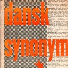 Libros de segunda mano: DANSK SYNONYM ORDBOG. ULLA ALBECK. 1957.. Lote 127369275