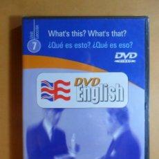Libros de segunda mano: DVD ENGLISH - UNIT 7 - BBC - EL MUNDO - PRECINTADO. Lote 128248227