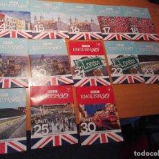 Libros de segunda mano: 13 CD ROM - DVD ENGLISH GO!. Lote 128726651