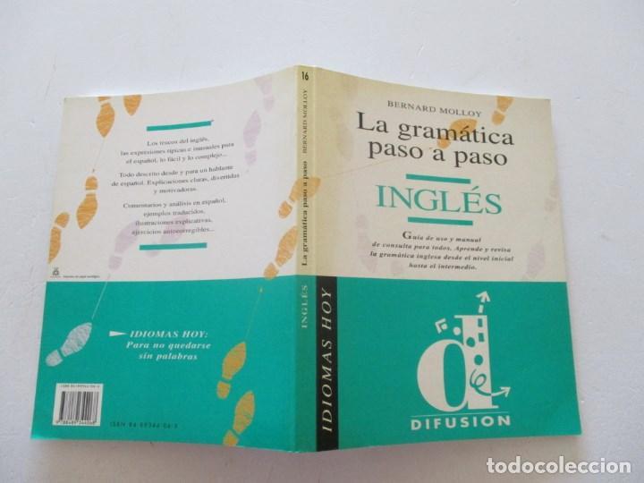 BERNARD MOLLOY INGLÉS. LA GRAMÁTICA PASO A PASO. RM87120 (Libros de Segunda Mano - Cursos de Idiomas)