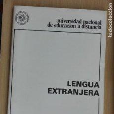Libros de segunda mano: LIBRO UNED 1986 - LENGUA EXTRANJERA / FRANCES - 58 PG. Lote 130849228