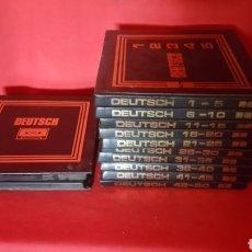 Libros de segunda mano: CURSO DE ALEMÁN. STILLITRON. 1971. CON CINTAS.. Lote 131870255