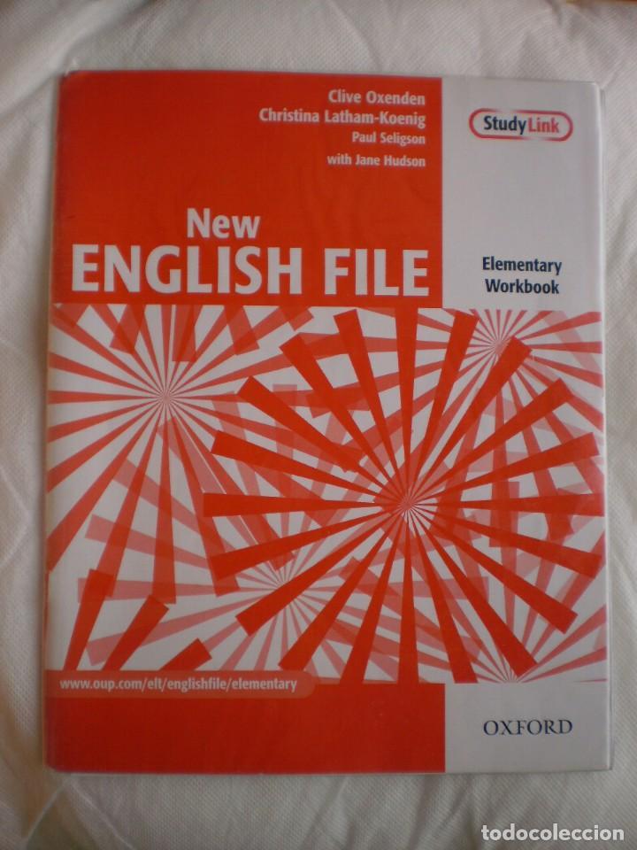 NEW ENGLISH FILE ELEMENTARY WORKBOOK (Libros de Segunda Mano - Cursos de Idiomas)