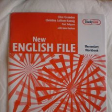 Libros de segunda mano: NEW ENGLISH FILE ELEMENTARY WORKBOOK. Lote 132383010