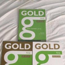 Libros de segunda mano: GOLD FIRST. PEARSON.. Lote 132783026