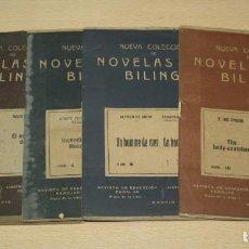 Libros de segunda mano: LOTE 4 NOVELAS BILINGUES. Lote 133339214