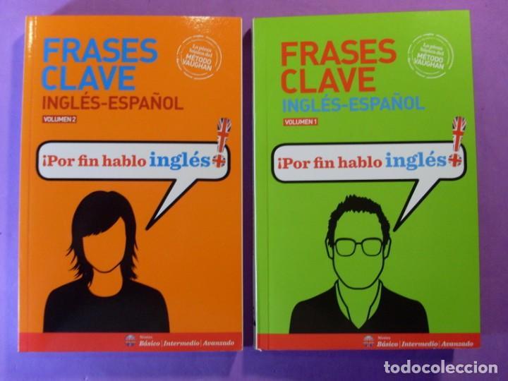 FRASES CLAVE. INGLÉS - ESPAÑOL / RICHARD VAUGHAN / 2015 / DOS TOMOS (Libros de Segunda Mano - Cursos de Idiomas)