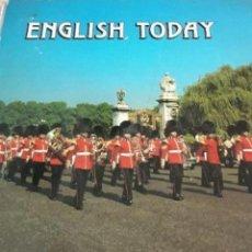 Libros de segunda mano: CURSO DE INGLÉS ENGLISH TODAY - CAR61. Lote 134002834