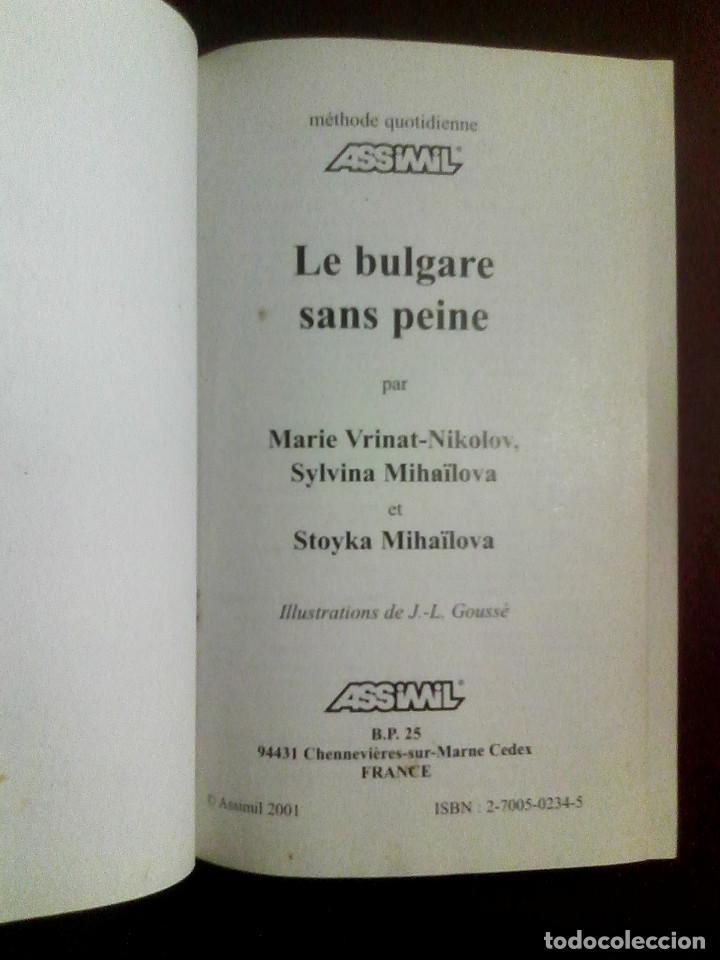 Libros de segunda mano: Le bulgare sans peine - Assimil (2006) / BÚLGARO / - Foto 2 - 140639409