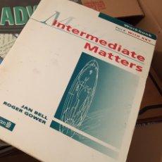 Libros de segunda mano: INTERMEDIATE MATTERS - WORKBOOK PART B - INGLÉS. Lote 135393954