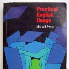 Libros de segunda mano: PRACTICAL ENGLISH USAGE, DE MICHAEL SWAN. Lote 136006922