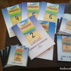 Libros de segunda mano: THAT'S ENGLISH! SEGUNDO CURSO COMPLETO MÓDULOS 4, 5 Y 6 AÑO 2004-2005. Lote 136707410