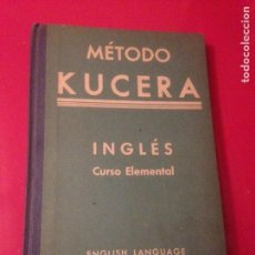 Libros de segunda mano: MÉTODO KUCERA DE INGLÉS. Lote 137253009