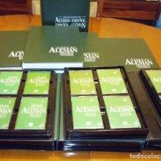 Libros de segunda mano: CURSO DE ALEMÁN PLANETA AGOSTINI - CASETES+TOMOS+DICCIONARIO. Lote 137393202