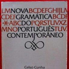 Libros de segunda mano: NOVA GRAMÁTICA DO PORTUGUÊS CONTEMPORÂNEO. 734 PÁGINAS. AÑO: 1997.. Lote 137877006