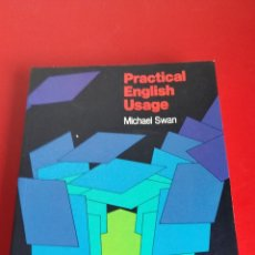 Libros de segunda mano: PRACTICAL ENGLISH USAGE. MICHAEL SWAM. OXFORD UNIVERSITY PRESS. EDICIÓN 1992. Lote 138078612