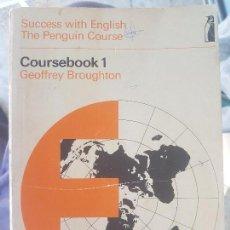 Libros de segunda mano: SUCCESS WITH ENGLISH / PENGUIN EDUCATION 1970 / COURSEBOOK 1 / GEOFFREY BROUGHTON.. Lote 138653670