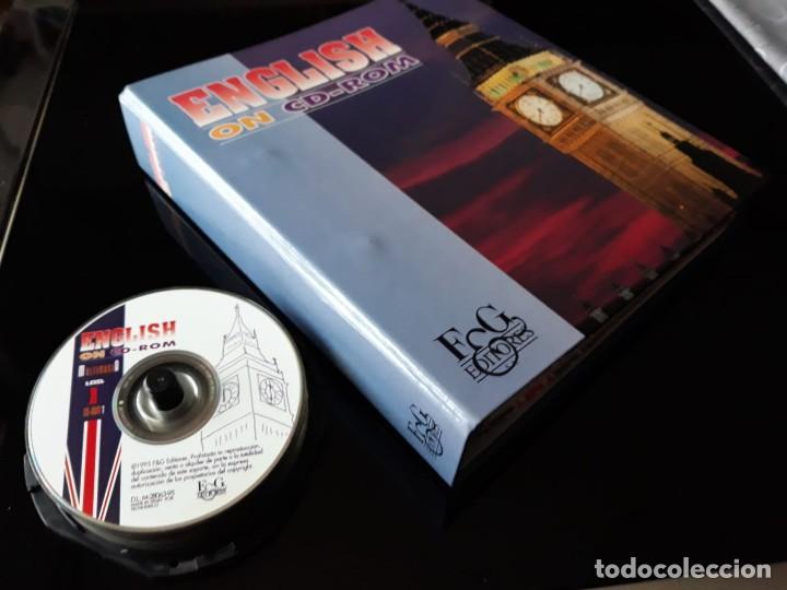CURSO COMPLETO DE INGLES: ENCLISH ON CD-ROM EDITORIAL: E & G.1995 (Libros de Segunda Mano - Cursos de Idiomas)