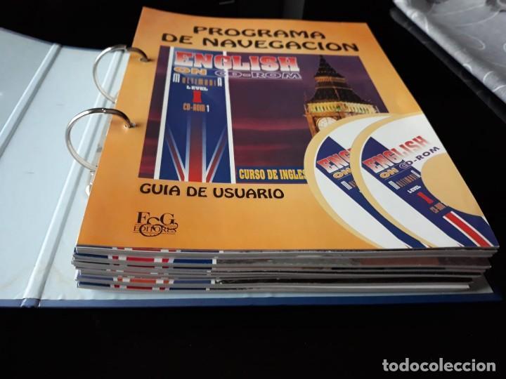 Libros de segunda mano: CURSO COMPLETO DE INGLES: ENCLISH ON CD-ROM EDITORIAL: E & G.1995 - Foto 2 - 140571438