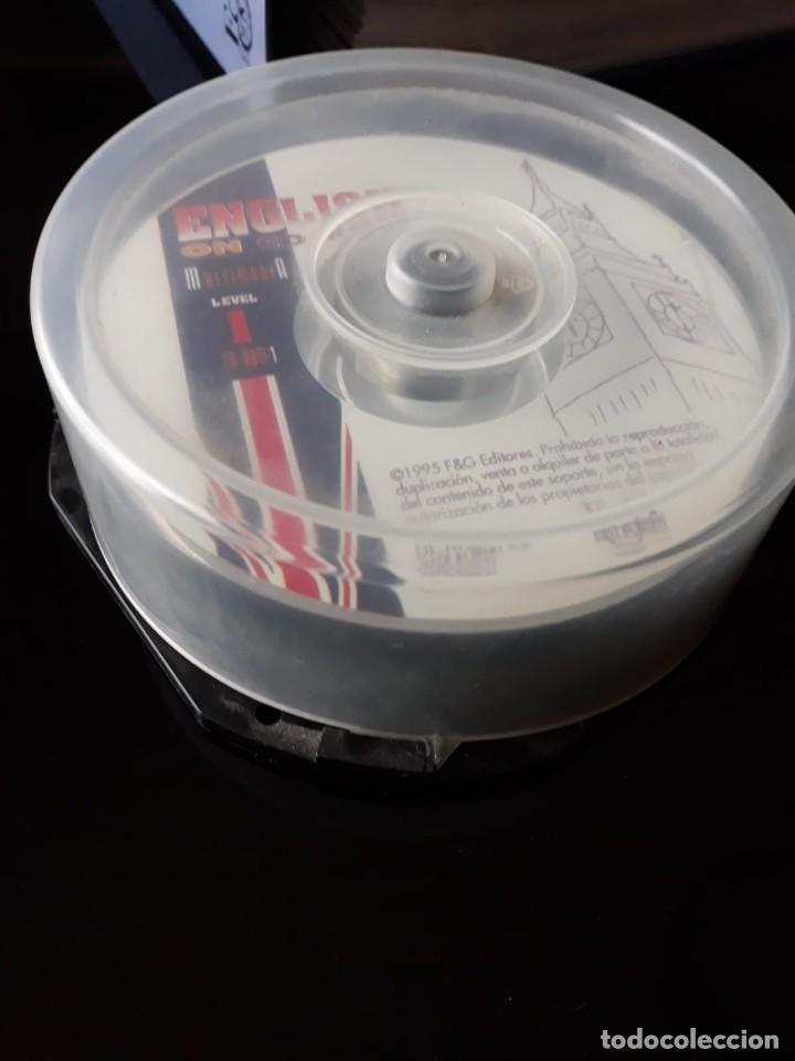 Libros de segunda mano: CURSO COMPLETO DE INGLES: ENCLISH ON CD-ROM EDITORIAL: E & G.1995 - Foto 3 - 140571438