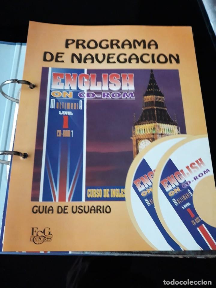 Libros de segunda mano: CURSO COMPLETO DE INGLES: ENCLISH ON CD-ROM EDITORIAL: E & G.1995 - Foto 4 - 140571438