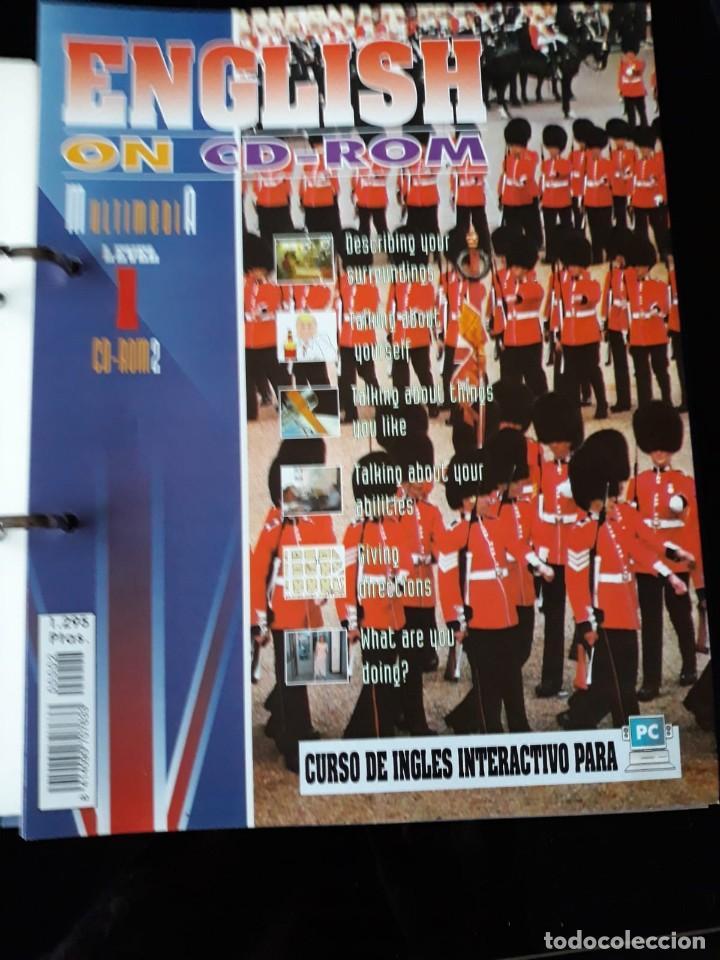 Libros de segunda mano: CURSO COMPLETO DE INGLES: ENCLISH ON CD-ROM EDITORIAL: E & G.1995 - Foto 5 - 140571438
