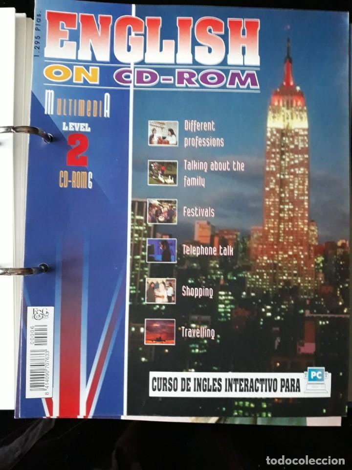 Libros de segunda mano: CURSO COMPLETO DE INGLES: ENCLISH ON CD-ROM EDITORIAL: E & G.1995 - Foto 6 - 140571438