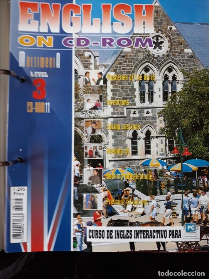 Libros de segunda mano: CURSO COMPLETO DE INGLES: ENCLISH ON CD-ROM EDITORIAL: E & G.1995 - Foto 7 - 140571438